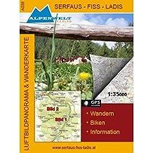 Wanderkarte Serfaus-Fiss-Ladis