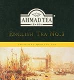 Ahmad Tea - English Tea No 1 | Schwarzteemischung | 100 Teebeutel á 2 g | Teebeutel mit Band