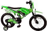 Kinderfahrrad Volare Motobike 16 Zoll grün mit Rücktrittbremse