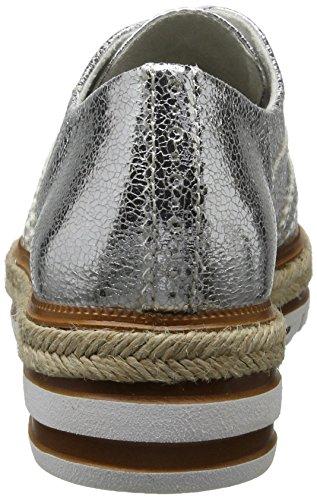Tamaris 23709, Sneakers Basses Femme Argent (SILVER CRACK 944)