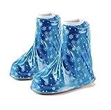 Heelinna heelinna Kinder Wasserdicht Regen Schuhe Cover (blau)