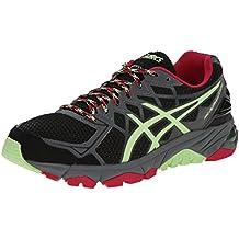 Asics Gel Fuji Trabuco 4 Neutral Mujer US 6 Negro Zapato para Correr