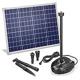 Solar Teichpumpe 50 Watt Solarmodul 1700 l