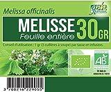 Tisane Melisse feuille Bio (Melissa officinalis) - 30 gr