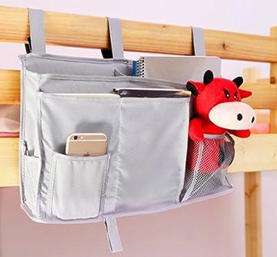 HYCONCAM Multipurpose Room Caddy Bedside Pocket Storage Organiser for Bedroom Cabin Beds Nursery Baby Phone