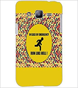 PrintDhaba Quote D-3524 Back Case Cover for SAMSUNG GALAXY J2 (Multi-Coloured)