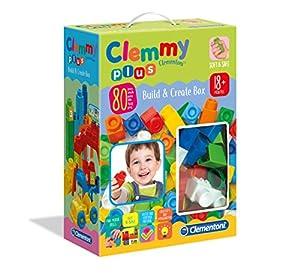 Clementoni-17257-Clemmy Plus-Build and Create Box, Multicolor