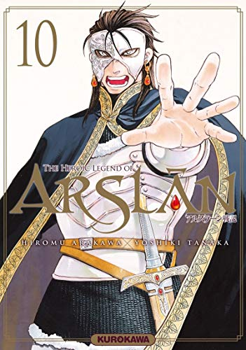 The Heroic Legend of Arslân - tome 10 (10) par  Hiromu ARAKAWA
