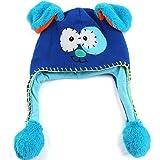 Berrose-Warme Ohrenschützer des beweglichen Hutes Cartoon Baby strickten Wollmütze -mütze kindermützen mützen kinder babymütze cap baby mütze schiebermütze sommermütze