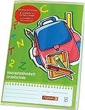 Hausaufgabenheft Grundschule, Brunnen, Größe DIN A5, Grün