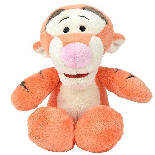 Tigger Flopsie | 19 cm | Winnie Puuh | Plüsch-Figur-Tier | Softwool Pooh (Disney-plüsch-tiger)