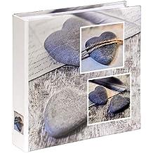 Hama Album, Grey Heart Stone, 22 x 22 cm, 200 Photos