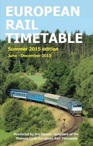 European Rail Timetable Summer 2015