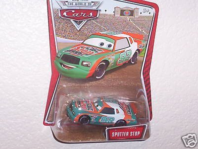 disney-pixar-world-of-cars-kmart-exclusive-diecast-car-sputter-stop-no-92-by-mattel