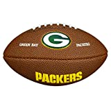 Wilson Nfl Team Logo Green Bay Packers American Football Ball - Brown, Mini