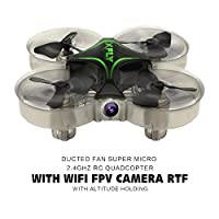 Fancywhoop XFLY Mini Quadcopter 2.4G 4CH 30W WiFi FPV Camera Altitude Hold 6-Axis Gyro Remote Control One Key Return Micro Drone RTF from FancyWhoop