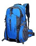 TanXianZhe Herren Damen Rucksack,Wasserdichter Trekkingrucksäcke in 8 Farbe wählbar für Outdoor Wandern Camping Reisen,50 x 32 x 15 cm,40 Liter