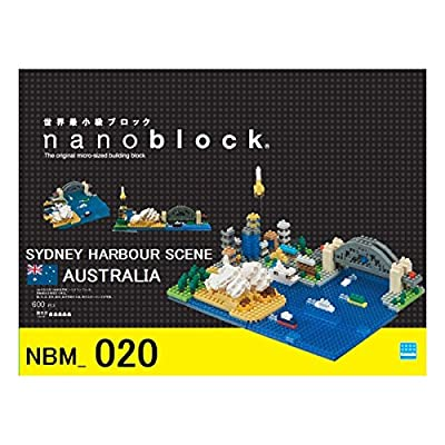 nanoblock NBM020 Sydney Harbour Toy, Multi-Colour