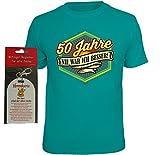 T-Shirt 50 Jahre nie war ich besser Größe XXL plus Ehrenkarte alte Saecke