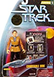 Constable Odo aus Episode Trials and Tribble-ations - Actionfigur Star Trek Deep Space Nine Warp Factor Serie von Playmates