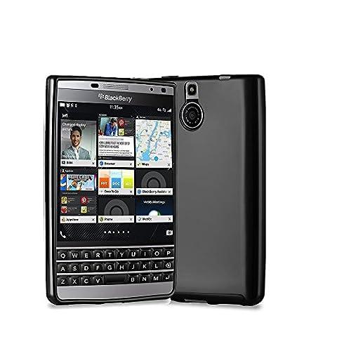 Blackberry Passport Silver Edition - Coque Protection arrière clipsable noire smartphone UltimKaz - Accessoires pochette XEPTIO : Exceptional case ! Prix découverte