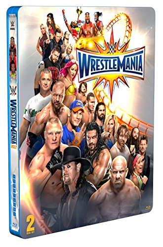 WWE: WrestleMania 33 [Blu-ray Limited Edition Steelbook] [UK Import]