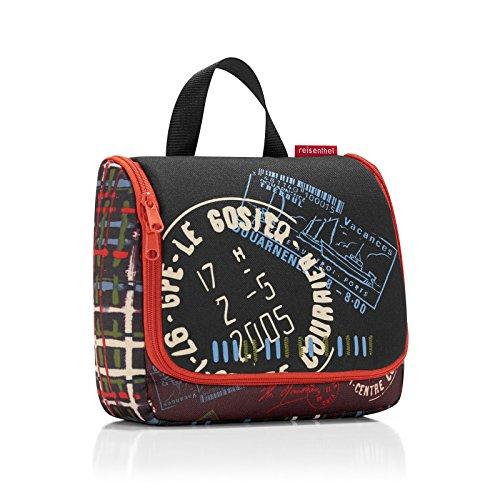 reisenthel toiletbag SPE stamps Maße: 23 x 20 x 10 cm / Maße: 23 x 55 x 8,5 cm expanded / Volumen: 3 l