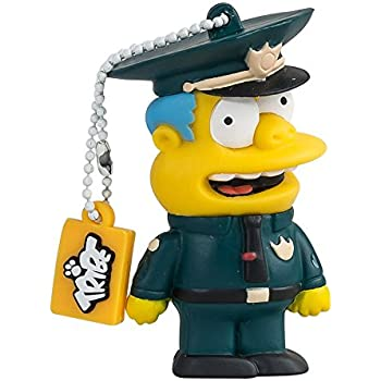 Tribe Los Simpsons Chief Wiggum - Memoria USB 2.0 de 8 GB Pendrive ...