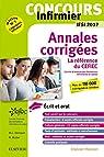 Concours Infirmier - Annales corrigées - IFSI 2017: Ecrit et Oral - La référence du CEFIEC par CEFIEC