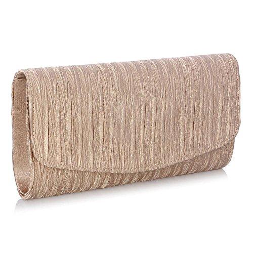Tinging Frauen Abend Umschlag Satin Taschen Taschen Partei Braut Handtaschen Geldbeutel für Party und Hochzeit Anlässe -