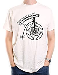 For Fans Of The Prisoner T Shirt by Old Skool Hooligans Penny Farthing Whose Side Are You On?