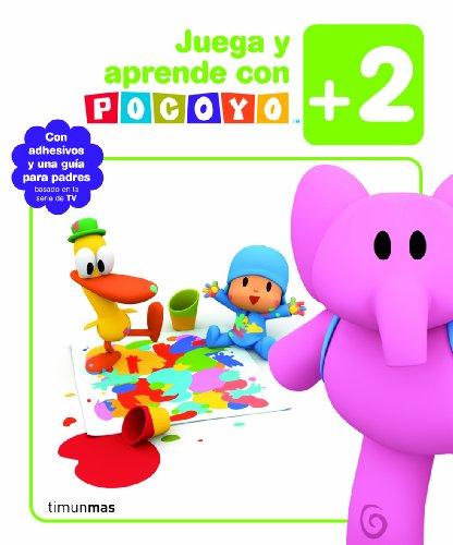 Juega y aprende con Pocoyo (+2): Con adhesivos y una guía para padres (Pocoyo)