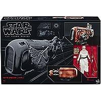 STAR WARS The Black Series Rey's Speeder Jakku Figure