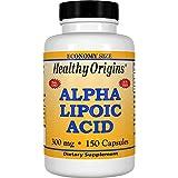 Healthy Origins, Alpha-Liponsäure, 300 mg, 150 Kapseln