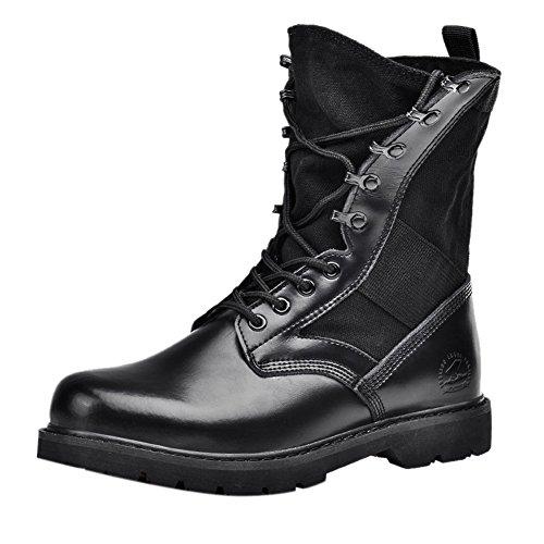 Insun , Herren Stiefel, schwarz - schwarz - Größe: 38 - Cold Weather Combat Boots