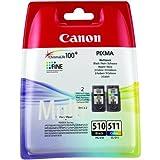 Canon PG-510 + CL-511 2 PACK Tintenpatrone