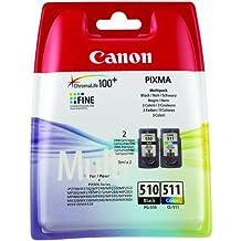 Canon PG-510 + CL-511 2 PACK Inkjet / getto d'inchiostro Cartuccia originale