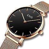 10ec5c6cd740 CIVO Relojes de Mujer Ultra Fino Silm Minimalista Reloj de Señoras  Impermeable Moda Elegante Relojes de