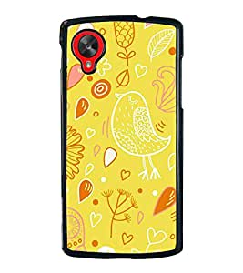 ifasho Designer Phone Back Case Cover LG Nexus 5 :: LG Google Nexus 5 :: Google Nexus 5 ( Blue White Green Colorful Pattern Design )