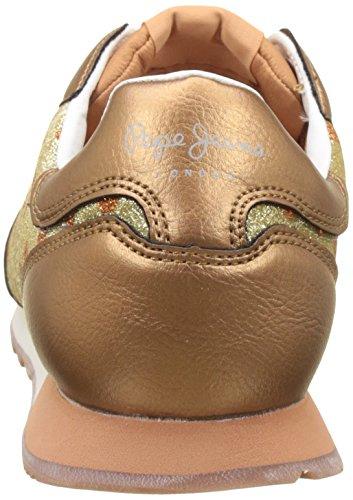 Pepe Jeans Londra Damen Verona Blim Sneaker Oro (oro)