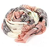 Scarf - TOOGOO(R) Elegant Women Long Print Cotton Scarf Wrap Ladies Shawl Large Silk Scarves
