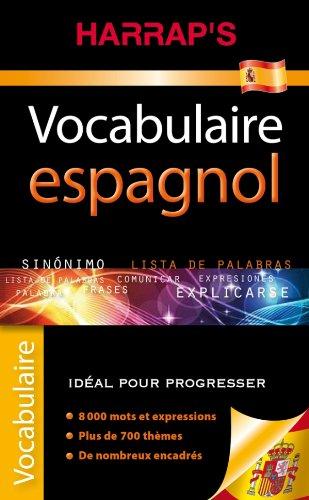 Harrap's Vocabulaire espagnol par Collectif