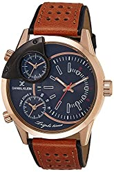 Daniel Klein Analog Blue Dial Mens Watch-DK11115-1