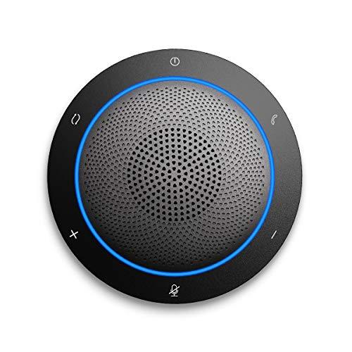 Kaysuda Bluetooth Conference Speakerphone Micrófono inalámbrico y Altavoz para teléfono móvil y...
