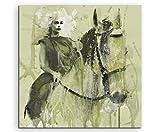 Paul Sinus Art Game_of_Thrones_Khaleesi-_60x60-SA Wandbild Leinwand, 90 x 50 x 3 cm, mehrfarbig
