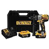 DEWALT DCD996P2 20V MAX* XR Lithium Ion Brushless 3-Speed Hammer Drill Kit by DEWALT