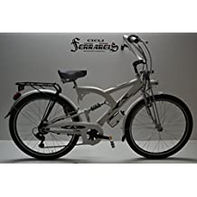 Cruiser Custom bicicleta Cruiser Bike Bicicleta Cruiser Custom Blanca Bike