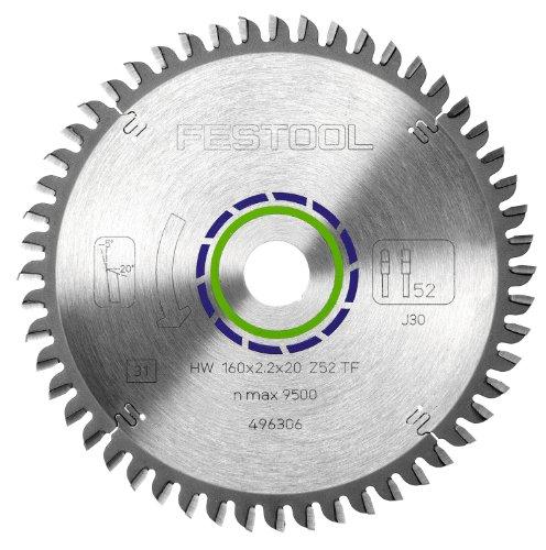 Festool Kreissägeblatt HW 160x2,2x20 TF52