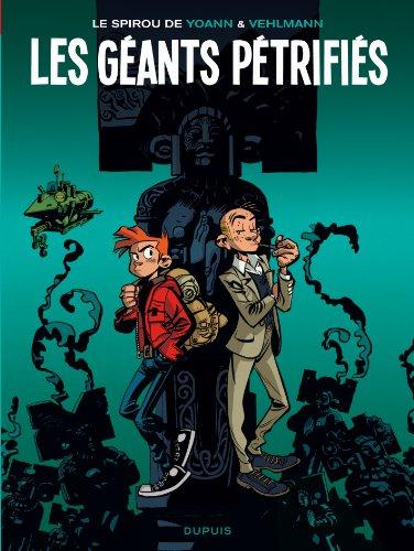 Le Spirou de ... - tome 1 - Les géants pétrifiés (réédition)