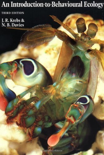 An Introduction to Behavioural Ecology by Nicholas B. Davies (1993-05-06)